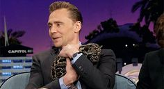 Tom Hiddleston gatto