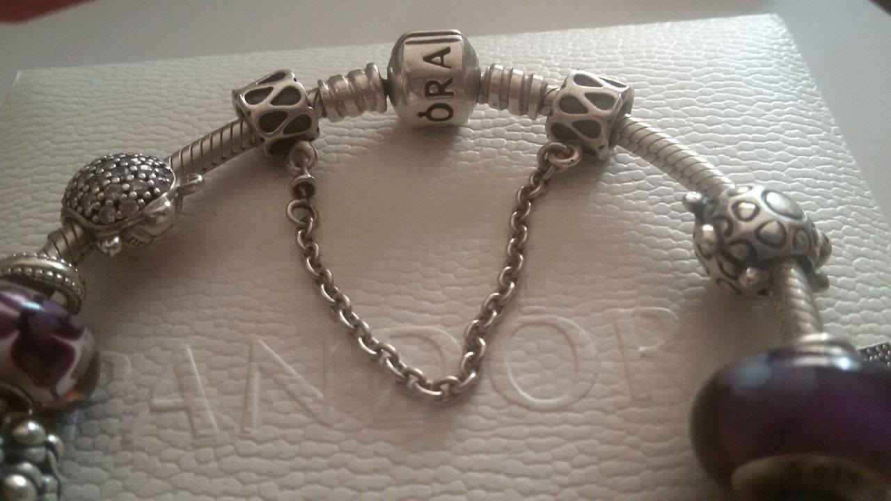 charm pandora originale sicurezza