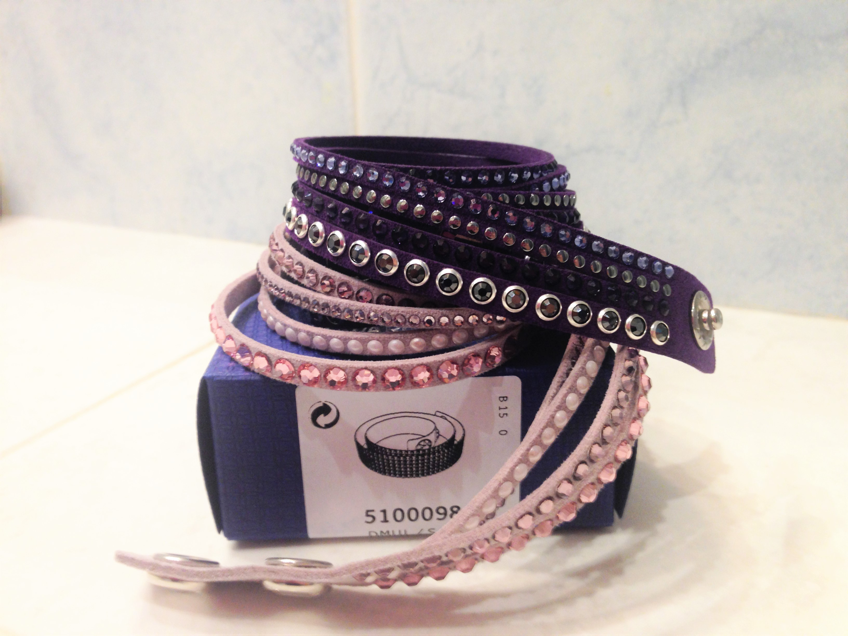 slake pink e purple rock