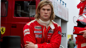 No Merchandising. Editorial Use Only. No Book Cover Usage Mandatory Credit: Photo by REX/Snap Stills (2628727c) Rush - (L to R) Chris Hemsworth as James Hunt and Daniel Bruhl as Niki Lauda Rush - 2013