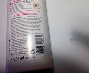 inci shampoo lavera capelli secchi e crespi