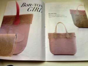 O bag rosa primavera estate