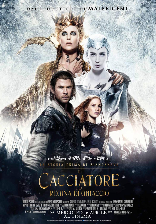 il cacciatore e la regina di ghiaccio Chris Hemsworth