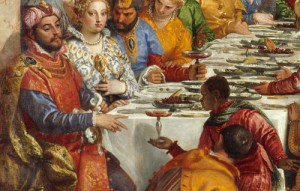 Veronese, Paolo (1528-1588): Marriage at Cana. Paris, Louvre *** Permission for usage must be provided in writing from Scala. ***