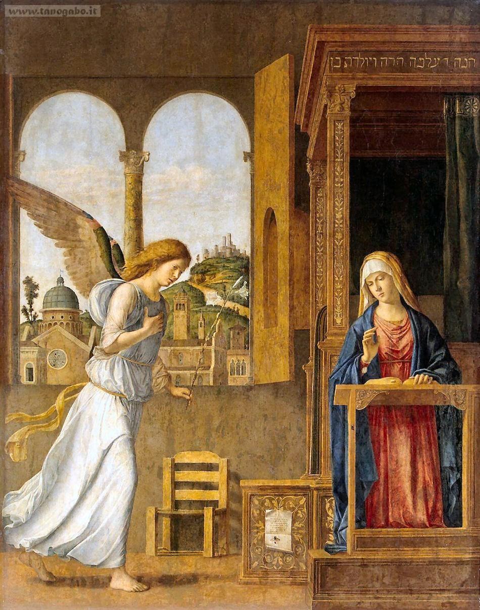 Attenta, signora McMichael che passa l'angelo e dice Amen! (modo di dire che indica la possibilità che, affermando qualcosa, questo si verifichi o si verifichi al contrario es: non mi si è mai rotta un'unghia e, due secondi dopo, ve ne spezzate tre su dieci).