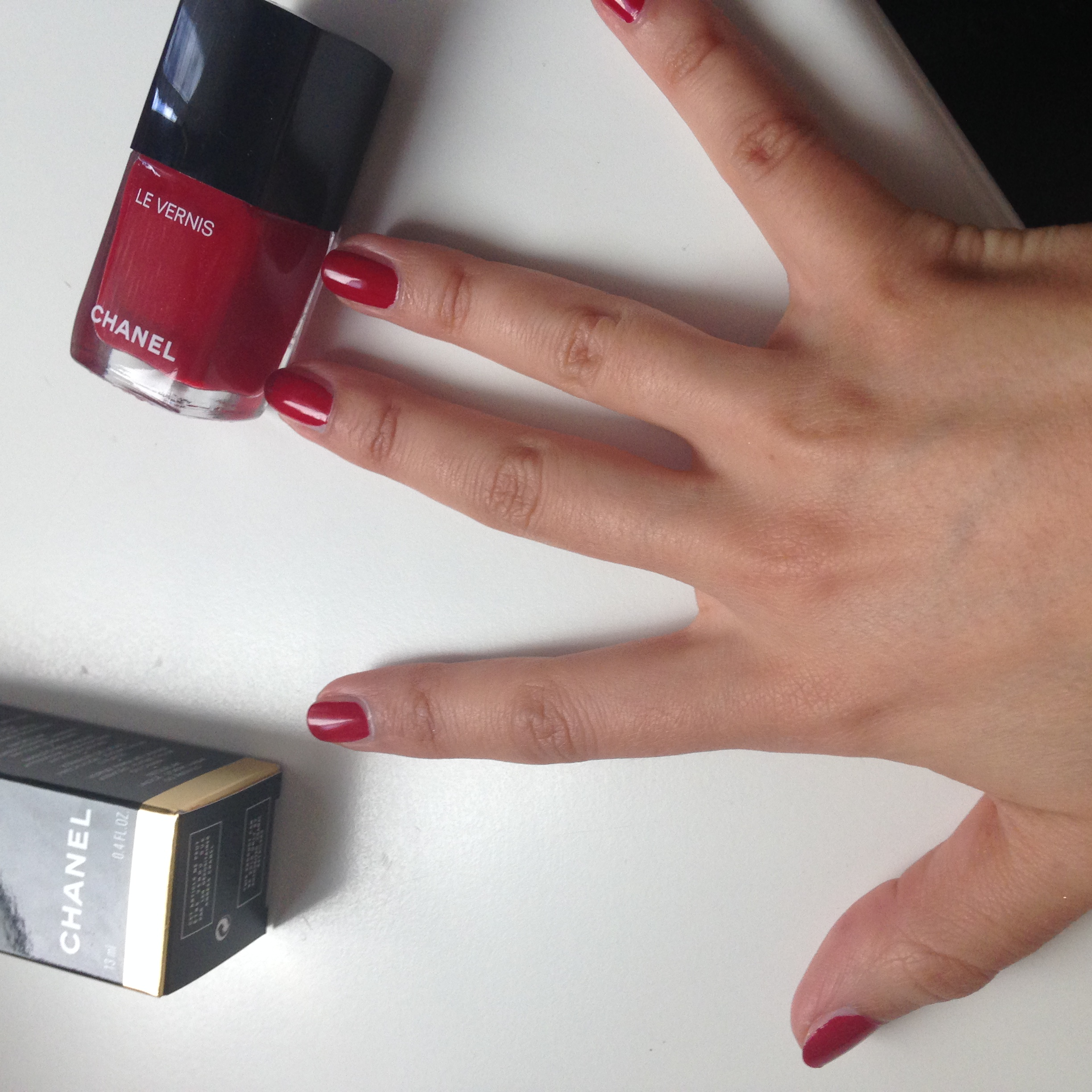rouge puissant swatch
