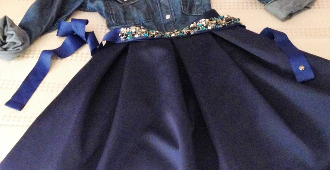 outfit autunnale blu