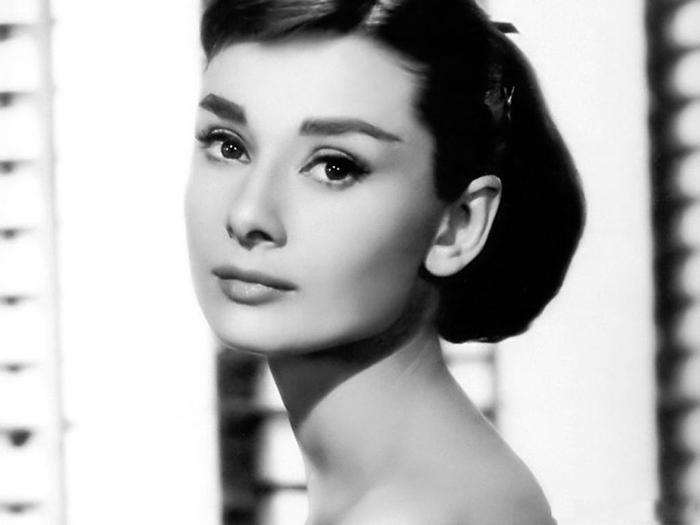 Immancabile Audrey...