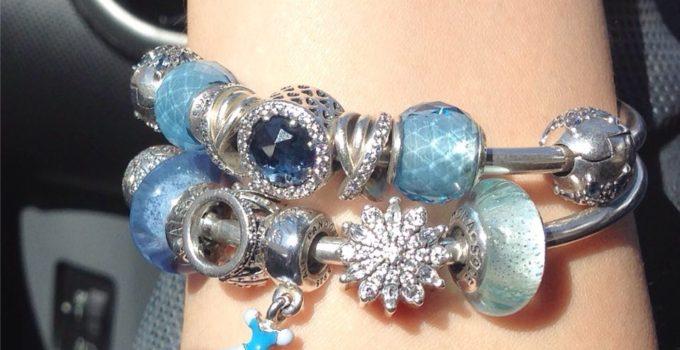 bracciali pandora blu